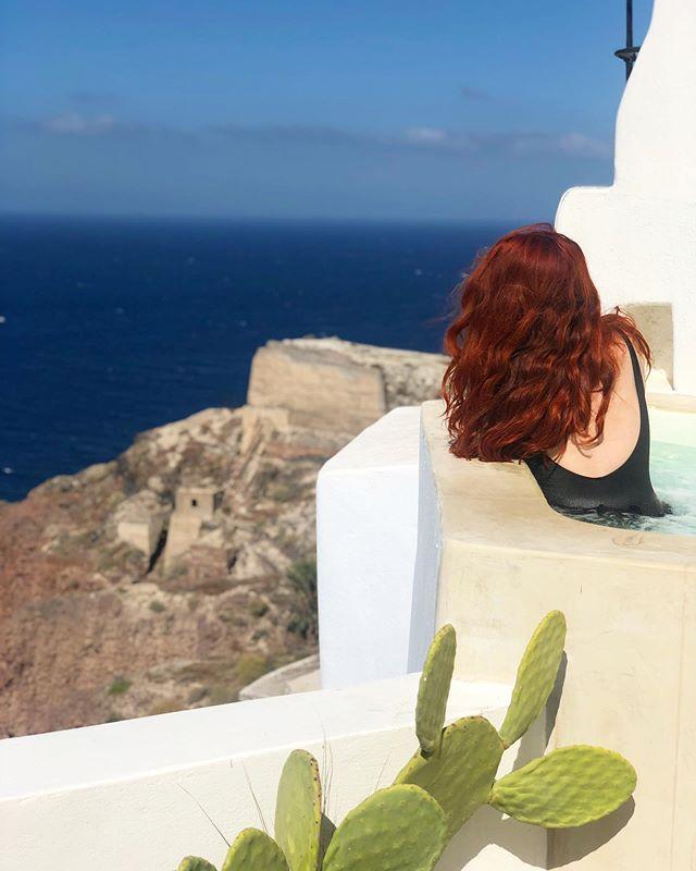 Kalimera 🇬🇷💙Good morning Santorini