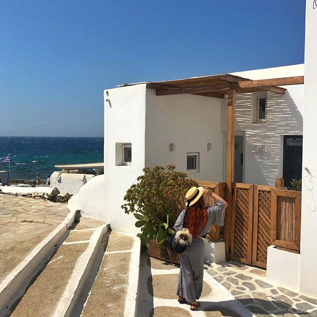 Exploring Mykonos 🇬🇷💙