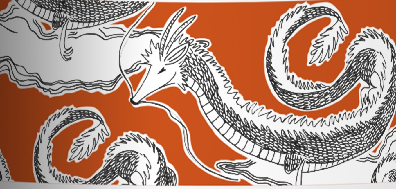 The Fighting Dragon - Thinning hair - $40