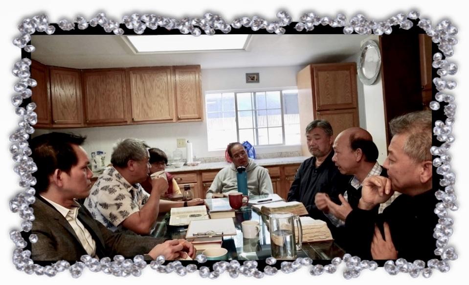 Nhóm RA ĐI LOAN TIN VUI California, USA. Chia sẻ Kinh Thánh