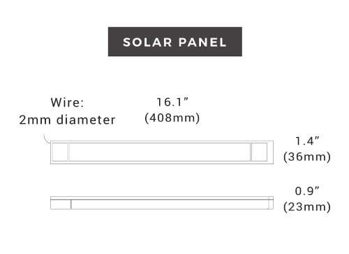 Gear Specs Solar Panel