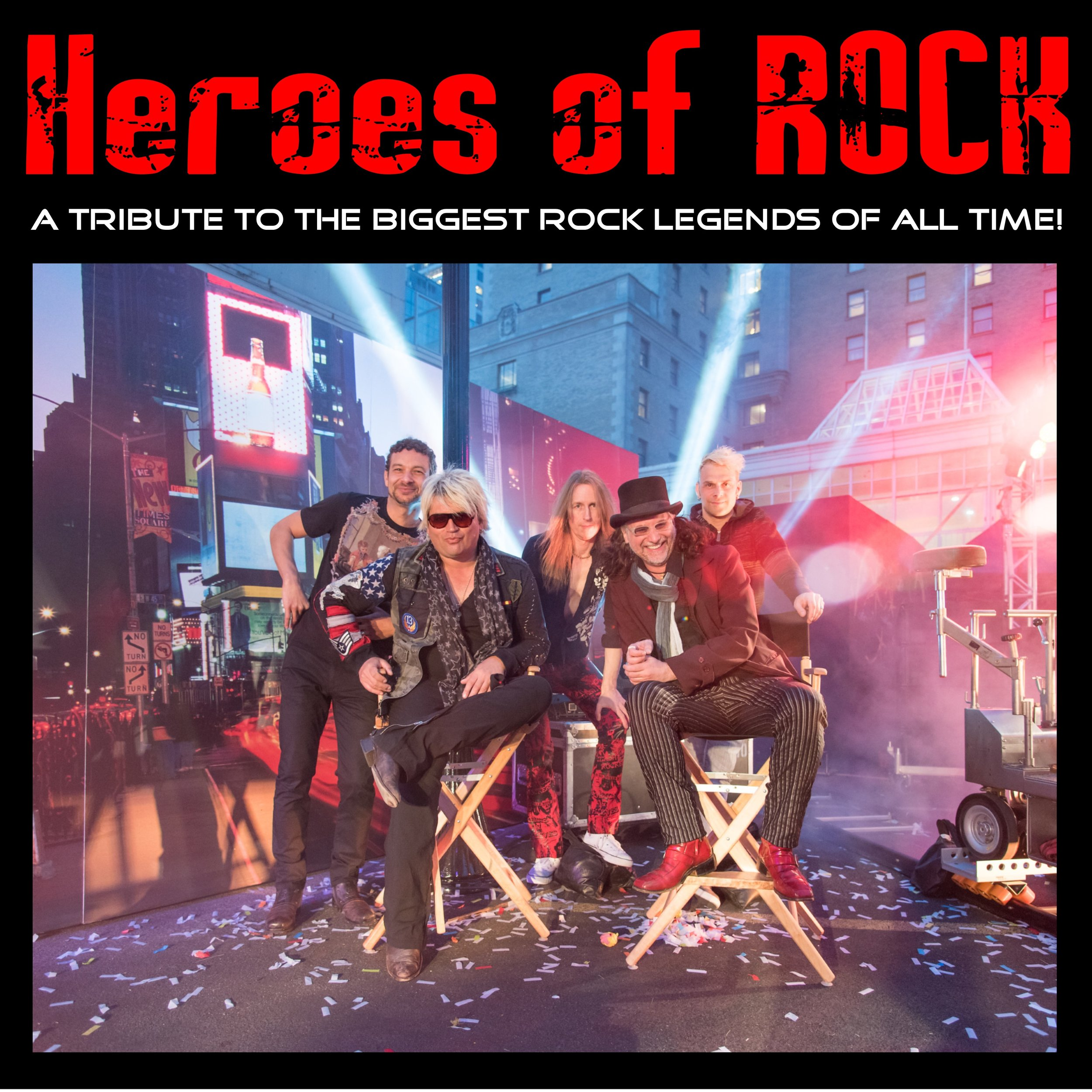 7:15 - 9:00Heroes of Rock/Jonas Falle -