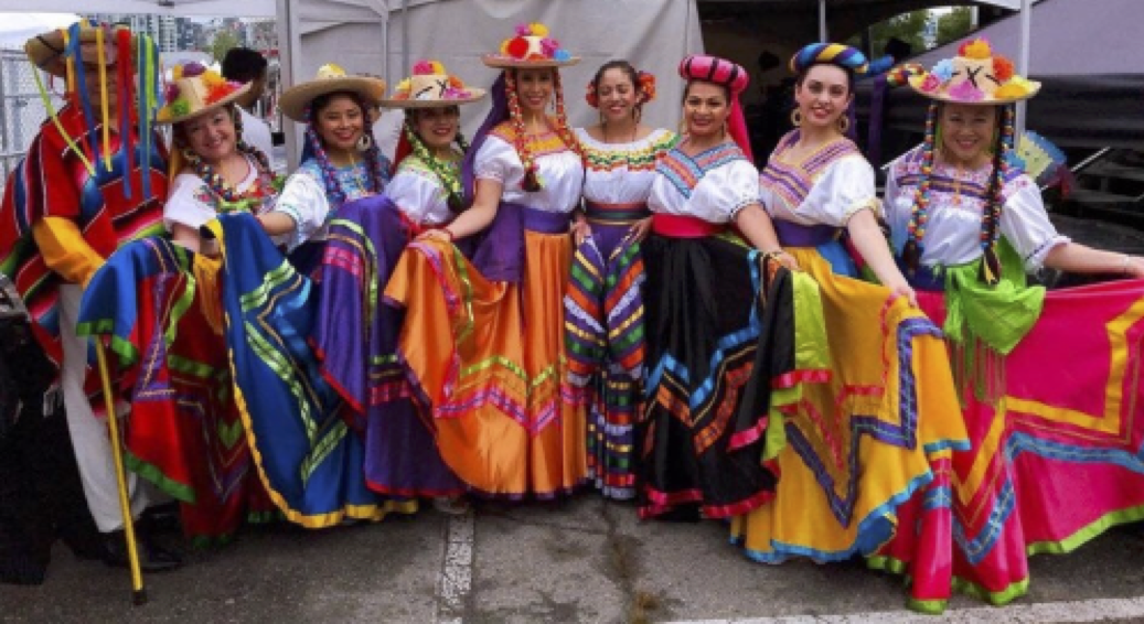 1:30 - 2:15Mexico Vivo Dance Group - Director is Maria Hillmer.Our group's mission is to share and preserve The Mexican traditions and Culture to the community trough our Folklore dances. Since 2001.www.mexicovivo.ca