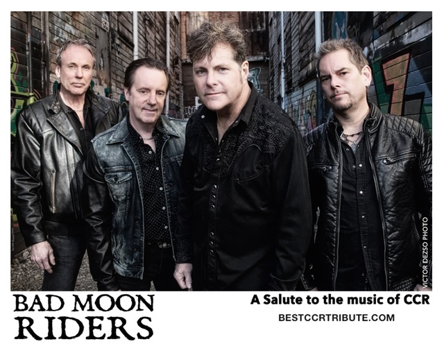 """7:30 - 9:00CCR """"Bad Moon Riders"""" - CCR Tribute -"""