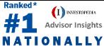 Joshua is ranked* the #1 Financial Adviser Nationally on Investopedia's Advisor Insights