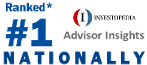 Joshua is ranked the #1 adviser Nationally by Investopedia's Advisor Insights audience.*