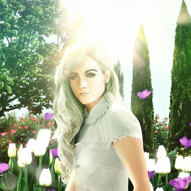 Helena Shepherd #ConceptArt • • • • • #beatifulgirls #blondehair #blonde #blondie #digitalart #photoedits #photocomposition #photoshop #womanclothedwiththesun #artemis #garden #tulips #bathedinsunlight #beautifulwomen #characterdesign #character #blondgirls #photoedition #cypress #sun #sunlight #art #instaart #helenoftroy