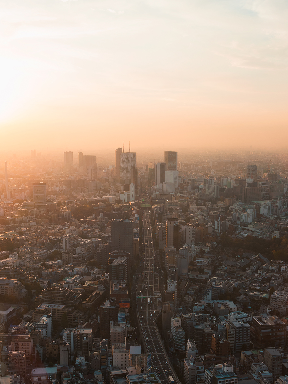A way to sunset | Tokyo, Japan