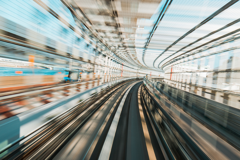 Speed warp | Tokyo, Japan