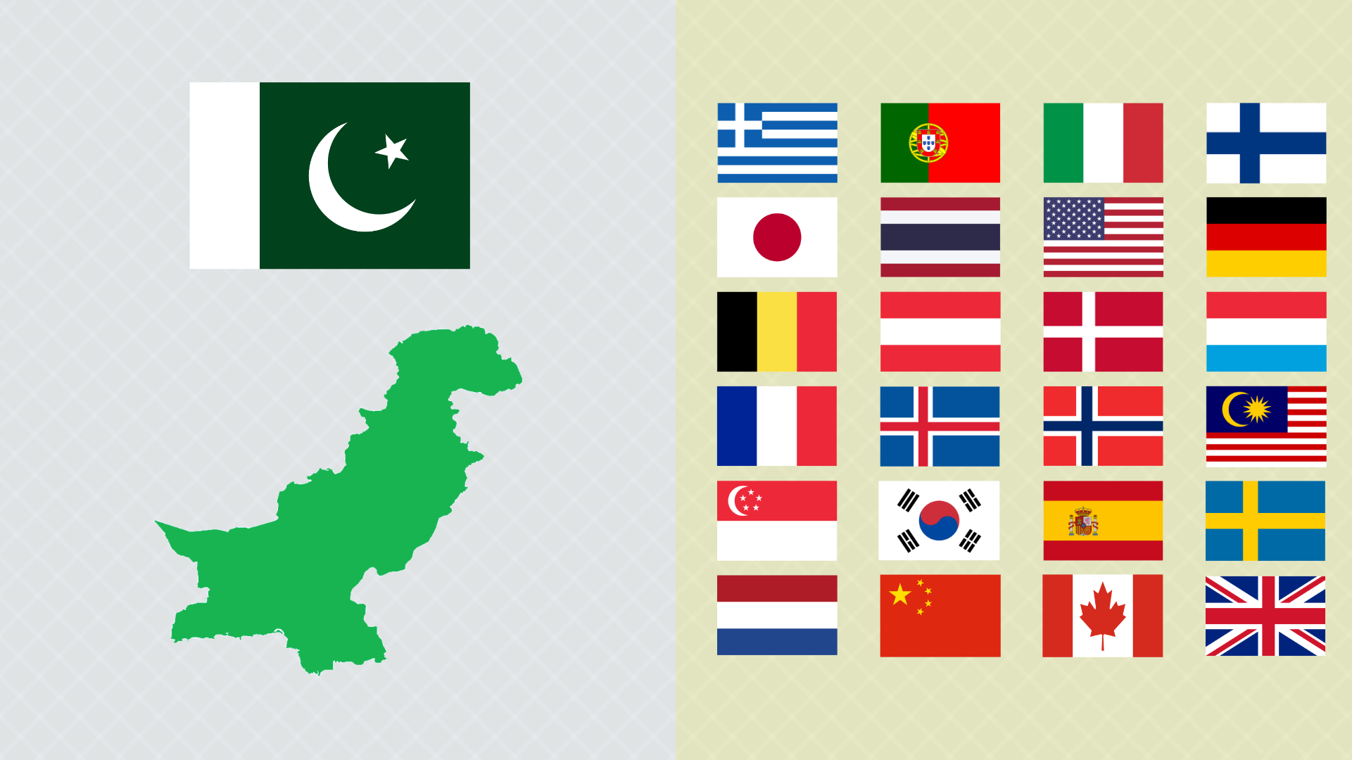 Pakistan visa on arrival is given to these 24 countries.