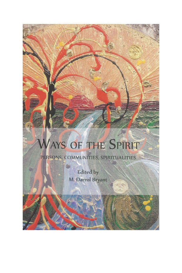 """Ways of Imperfection: Spiritual Disciplines for the Healing of the World"" - An essay by David Goa exploring the insight of the muslim theologian, Bediuzzaman Said Nursi and the Christian Orthodox spiritual teaching on the Beatitudes, particularly, ""blessed are the poor in spirit"". See Ways of the Spirit, Persons, Communities, Spiritualities,Edited by M. Darrol Bryant (Kitchener, Ontario: Pandora Press, 2015)."
