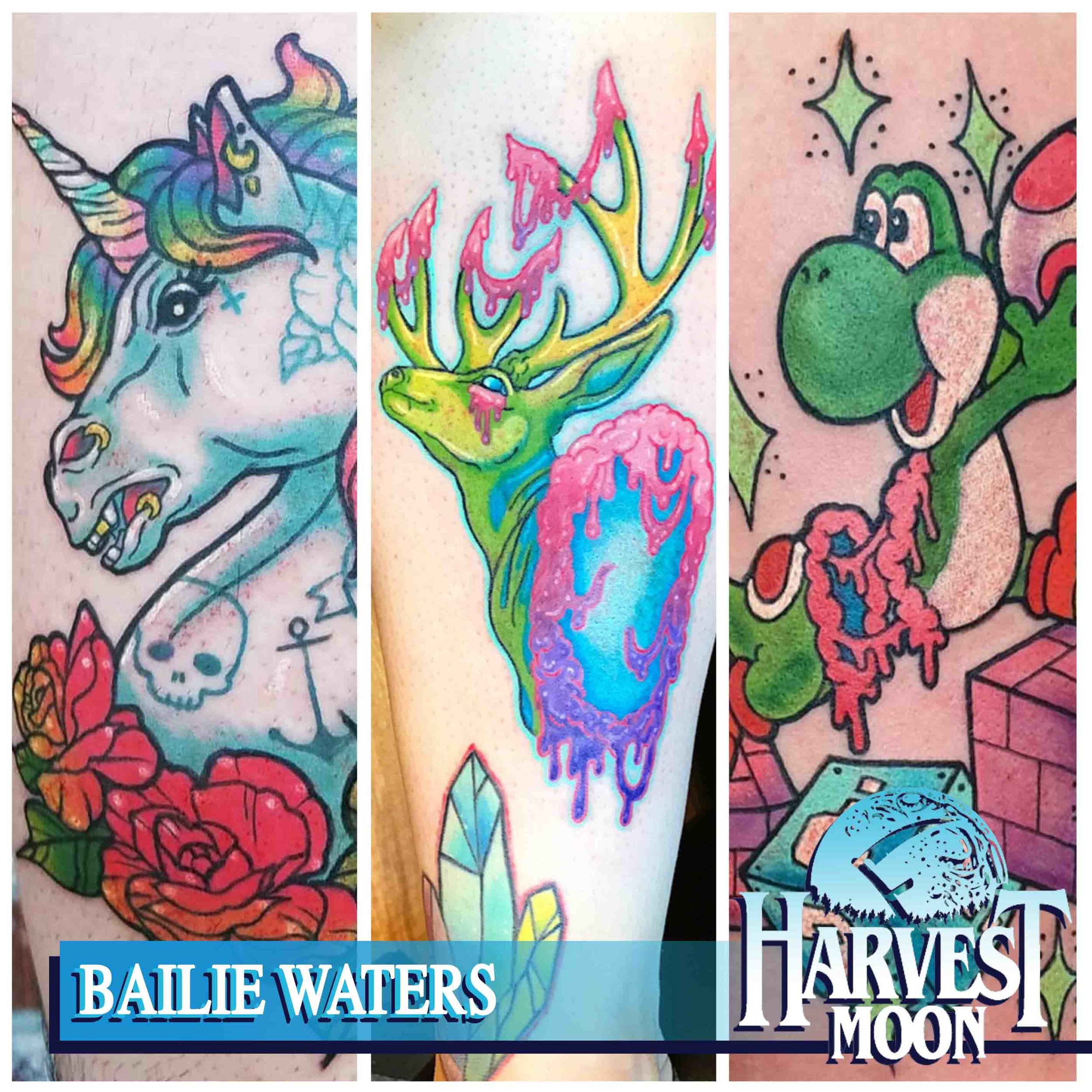 Tattoos by Bailie Waters Portland, OR