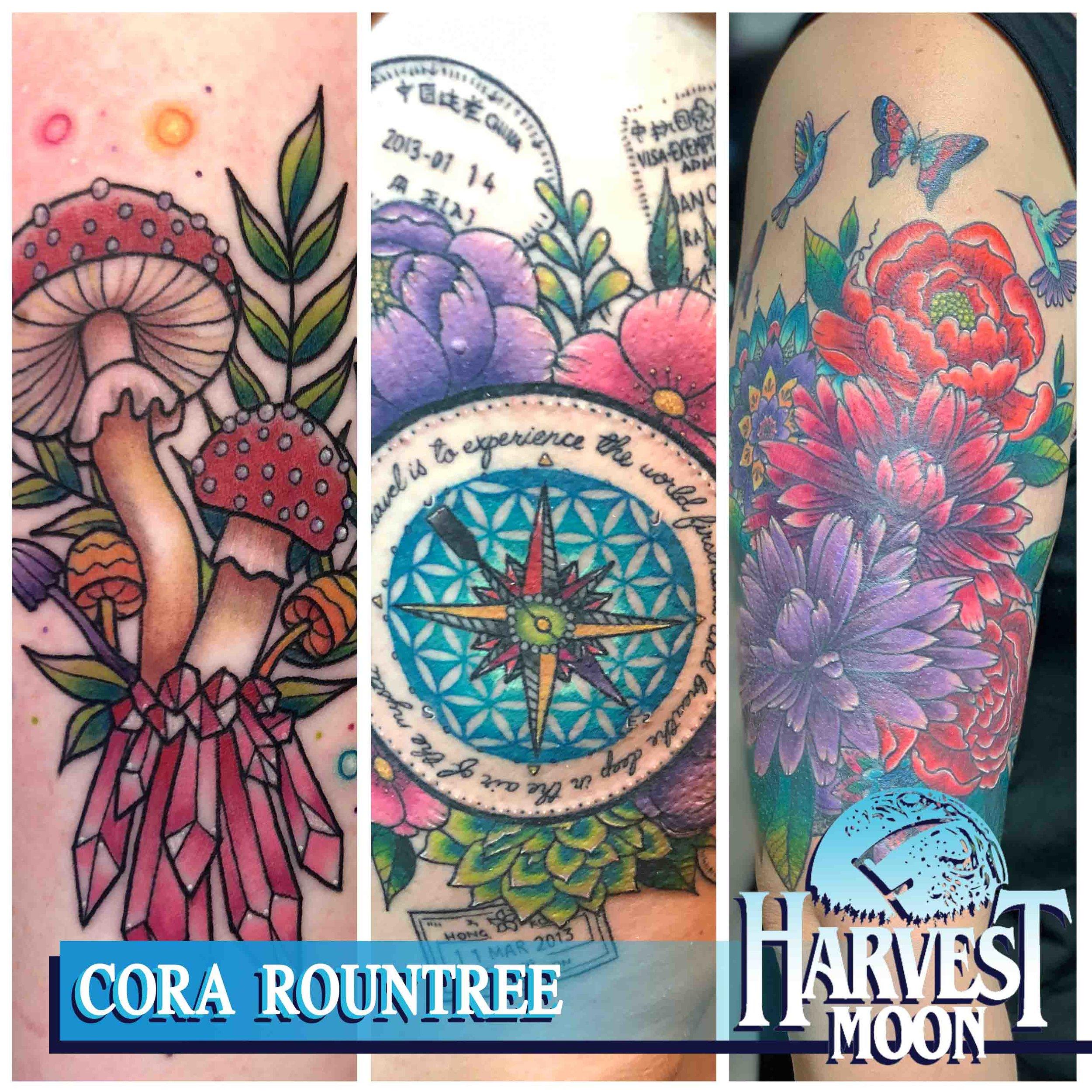 Vintage Rose Tattoo Whitehouse, TX