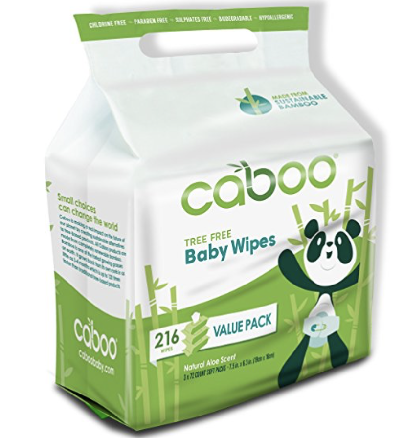 Caboo Baby Wipes