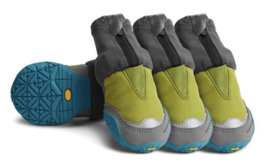 Ruff Wear Polar Trex Boots provide traction and insulation.