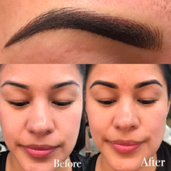 Combo Microblading + Shading/ Ombré Brows -