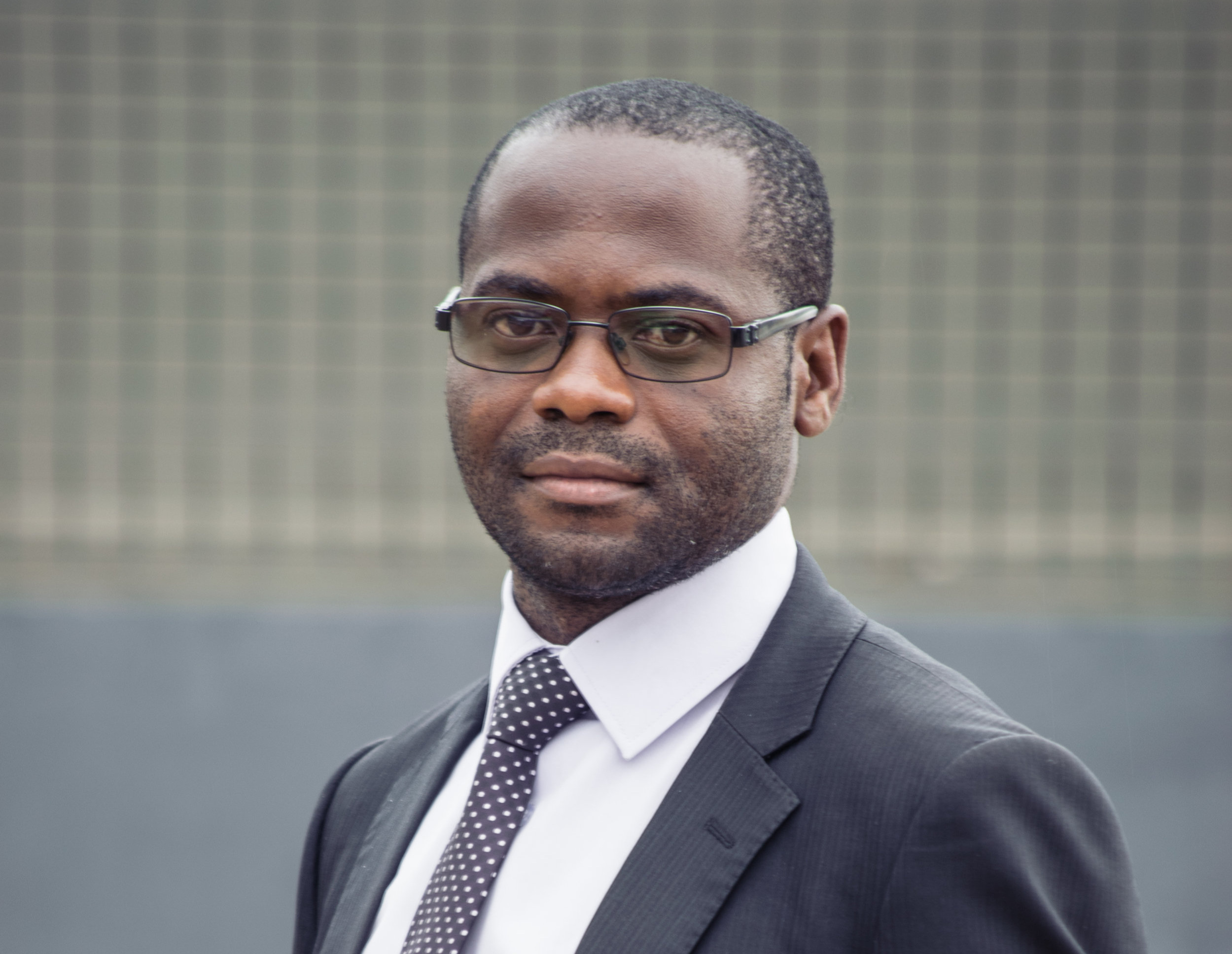 Francis Sinkala,  Procurement and Supplies Officer