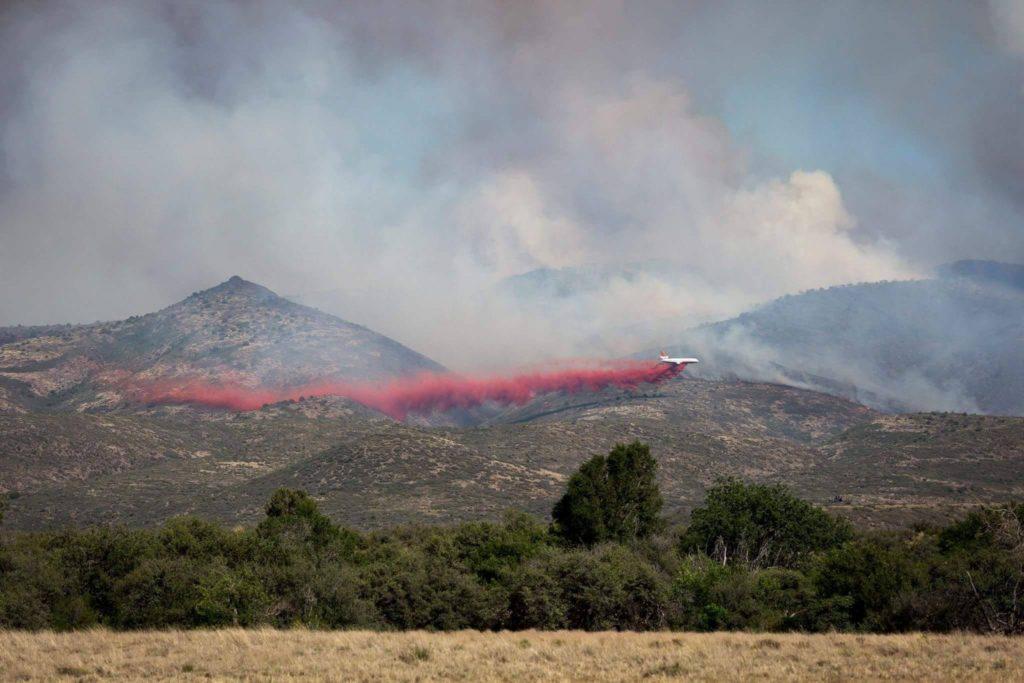 Tenderfoot Fire, Yarnell, AZ 2016. Photo courtesy of Deborah Pfingston