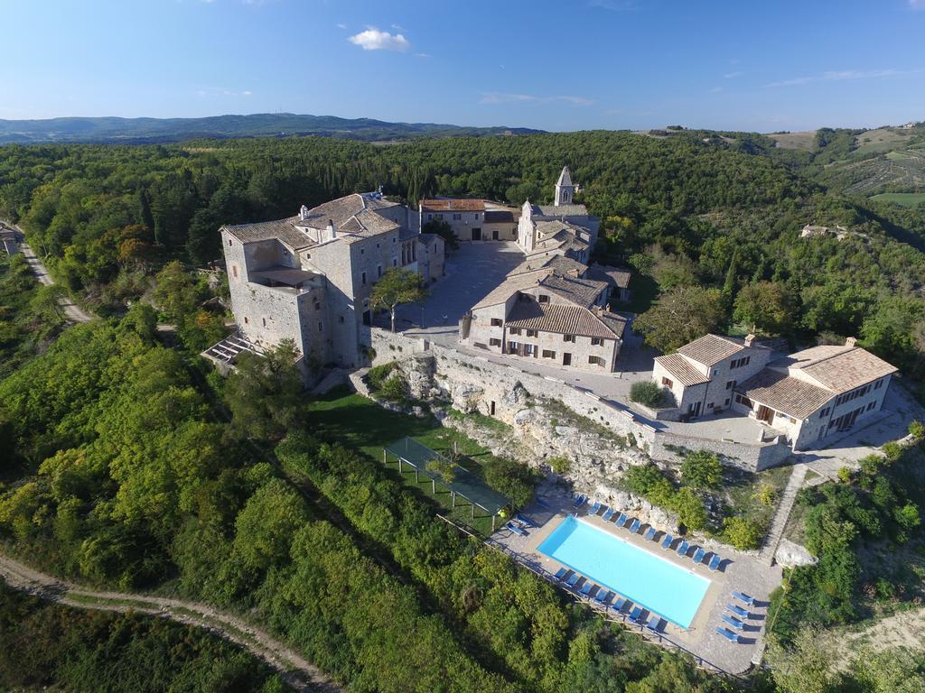 The impressive Castello di Titignano where the retreat will take place, set in the pristine and untouched Umbran countryside