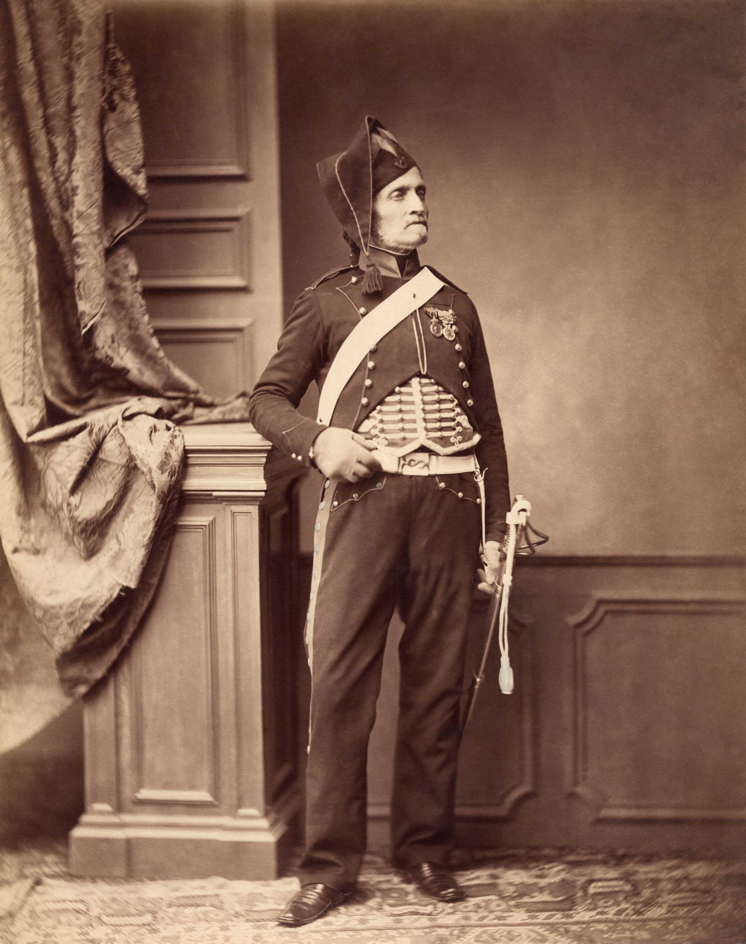 Monsieur Schmit, 2nd Mounted Chasseur Regiment, 1813-14
