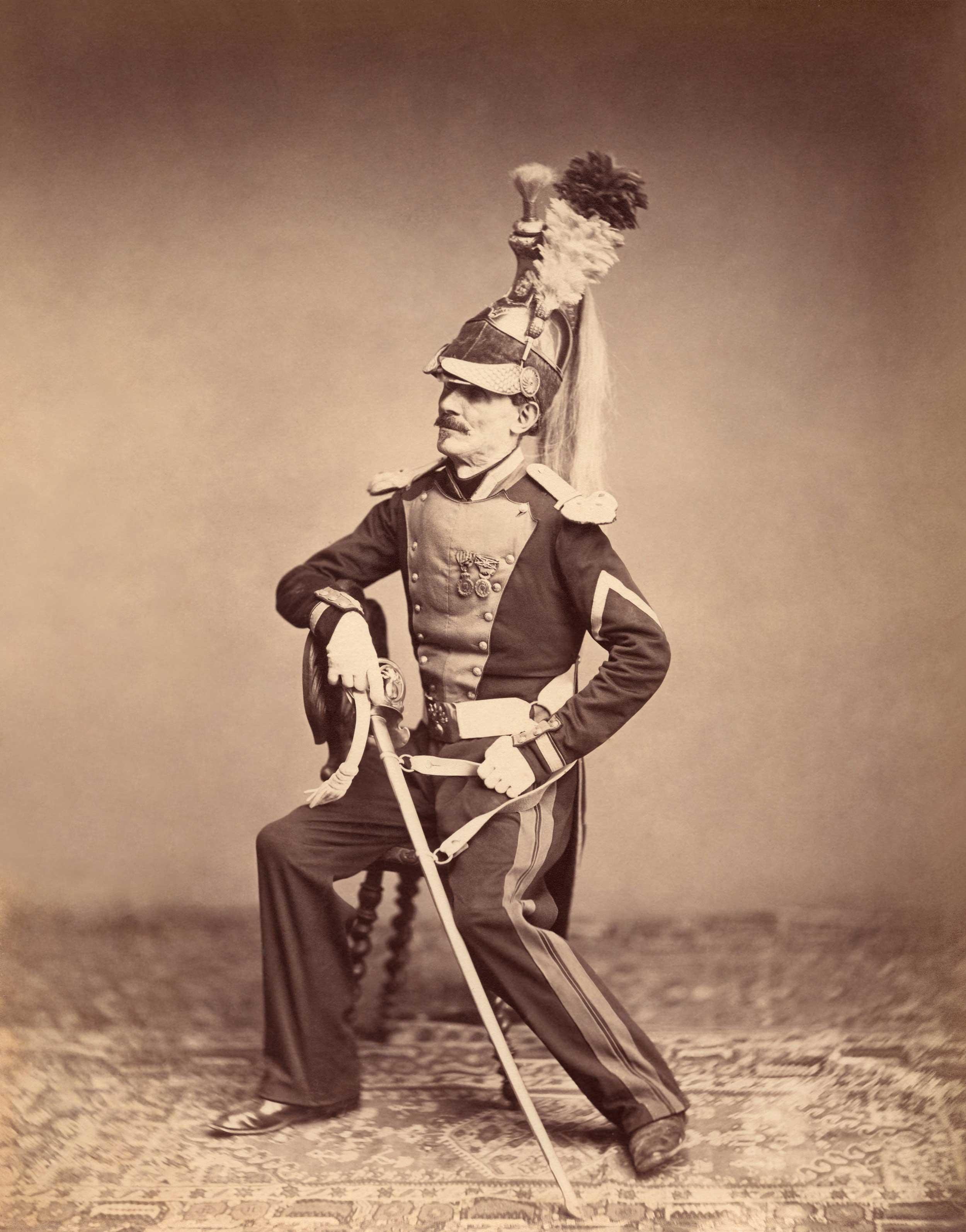 Monsieur Mauban, 8th Dragoon Regiment, 1815