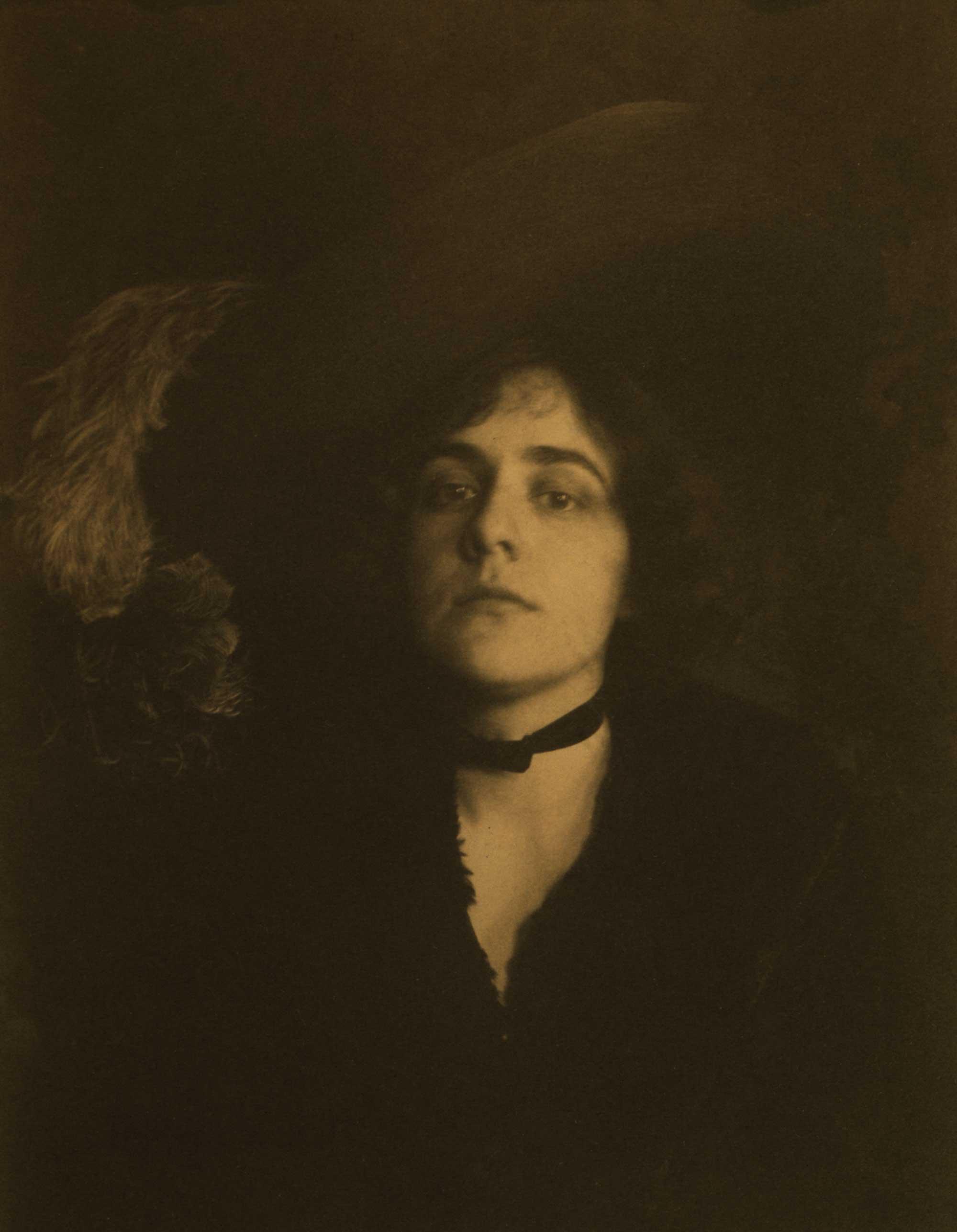 c. 1895: The Gainsborough Hat (Ethel Reed)