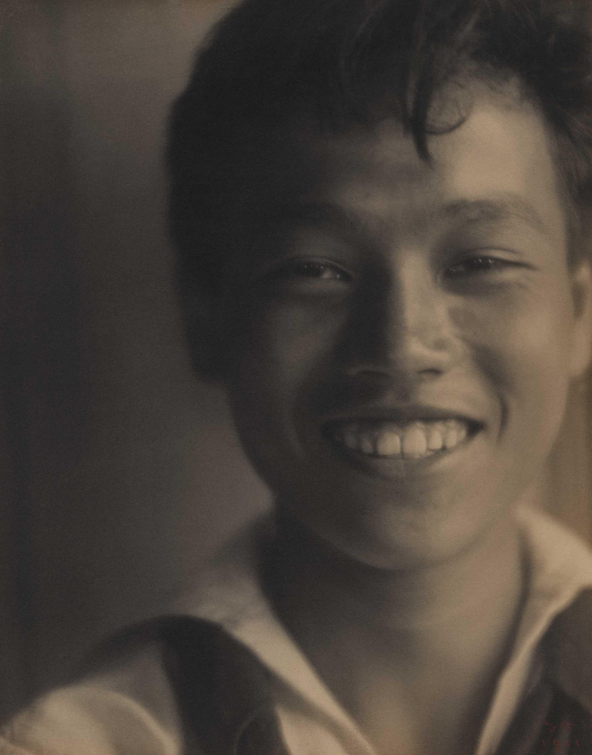 1911: David Leung, in sailor suit