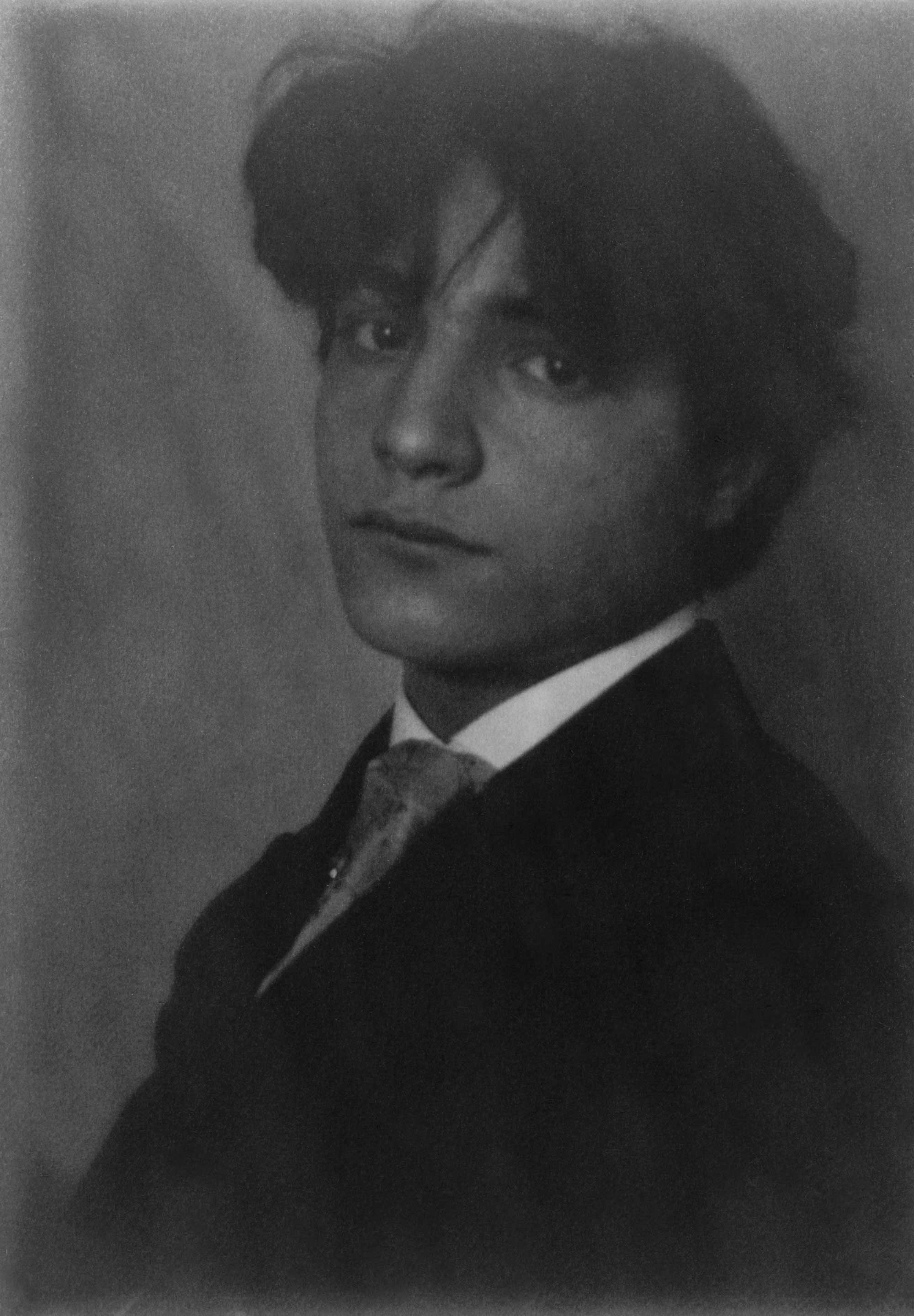c. 1906: Young man, possibly Nicolas Giancola