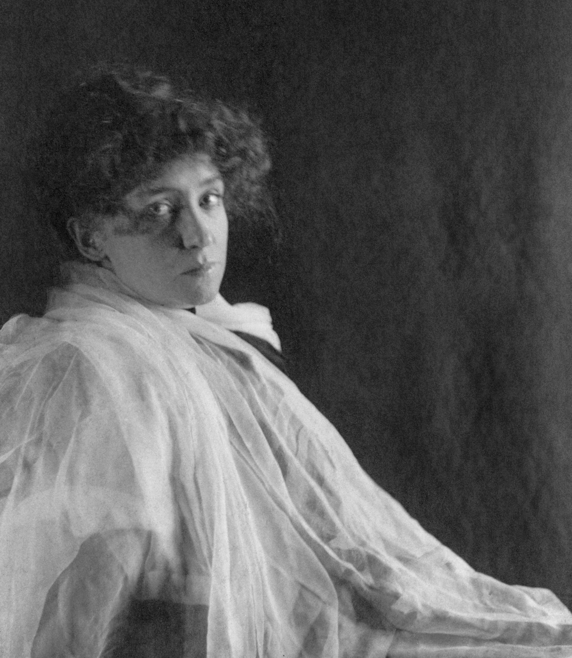 c. 1898: Minnie Maddern Fiske (1865-1932)