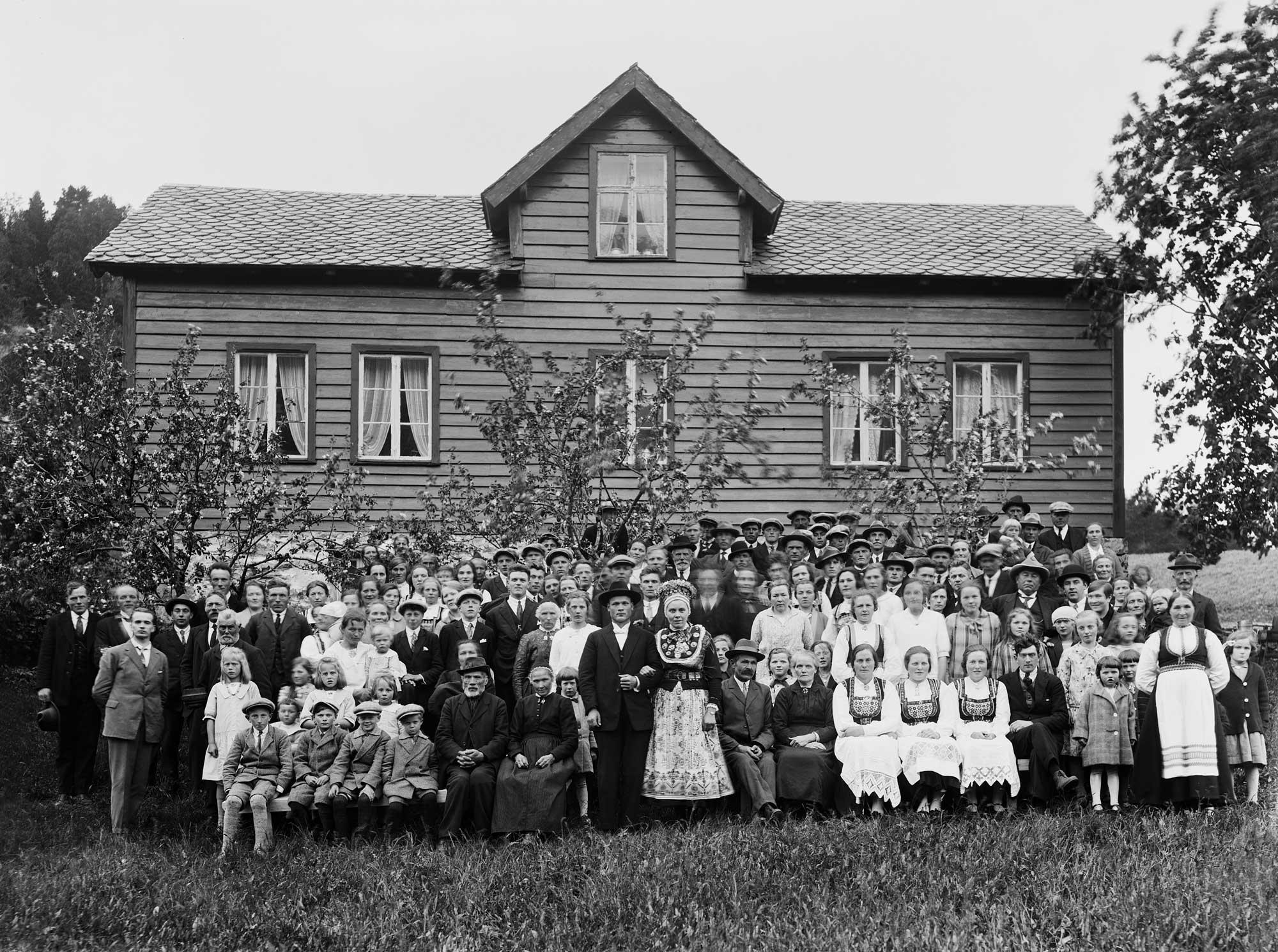 1928: Wedding at Støfring