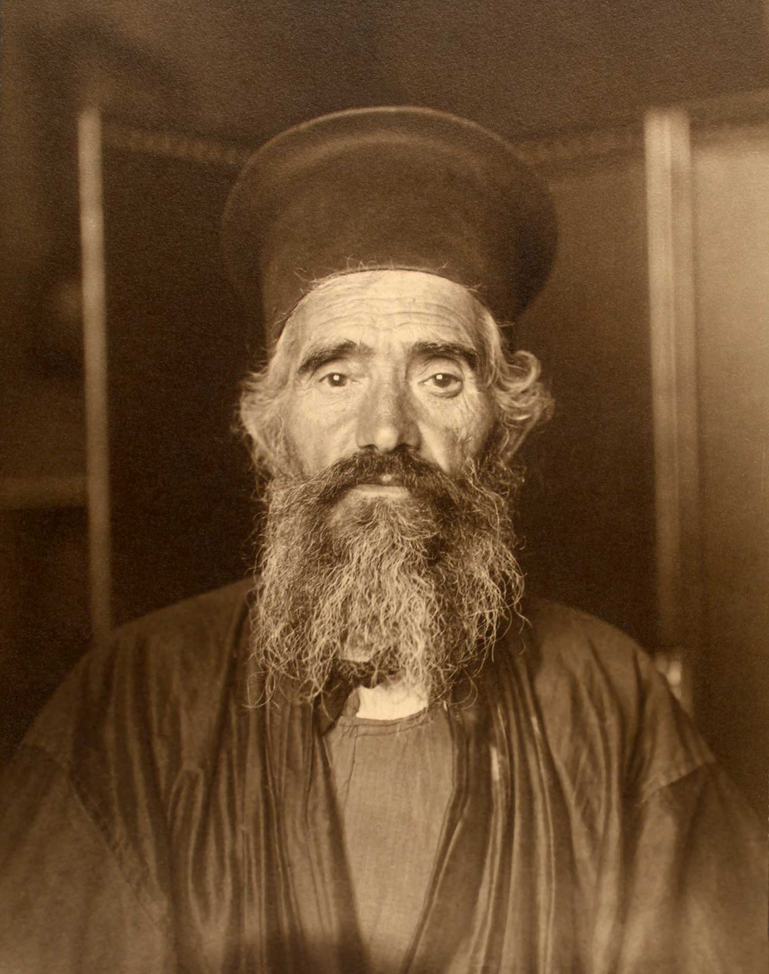 'Rev. Joseph Vasilon, Greek-Orthodox priest' (1910)