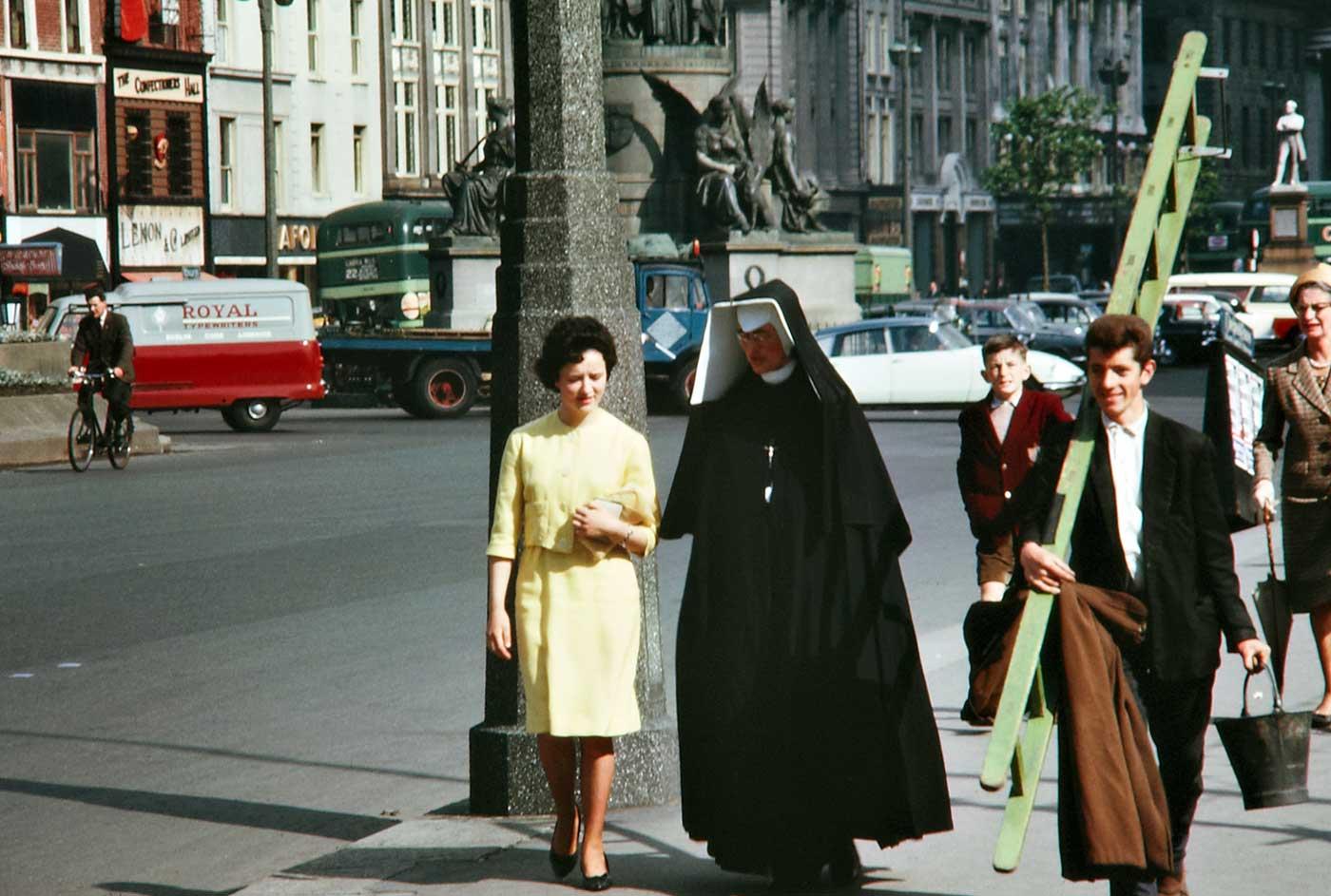 1963: O'Connell Street, Dublin