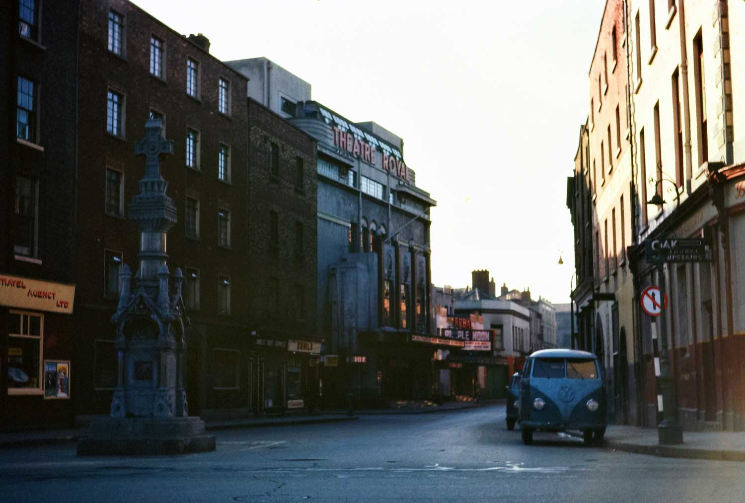 April 1962: Theatre Royal, Hawkins Street, Dublin