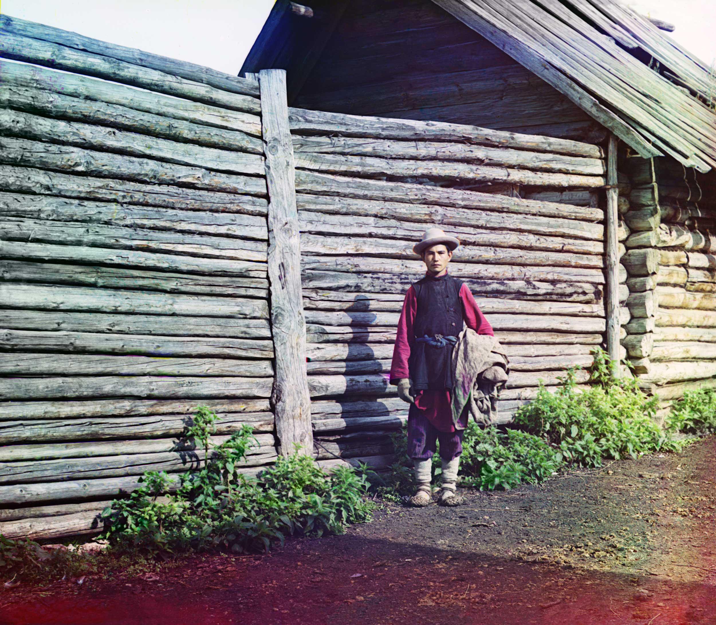 1910 - A young Bashkir man