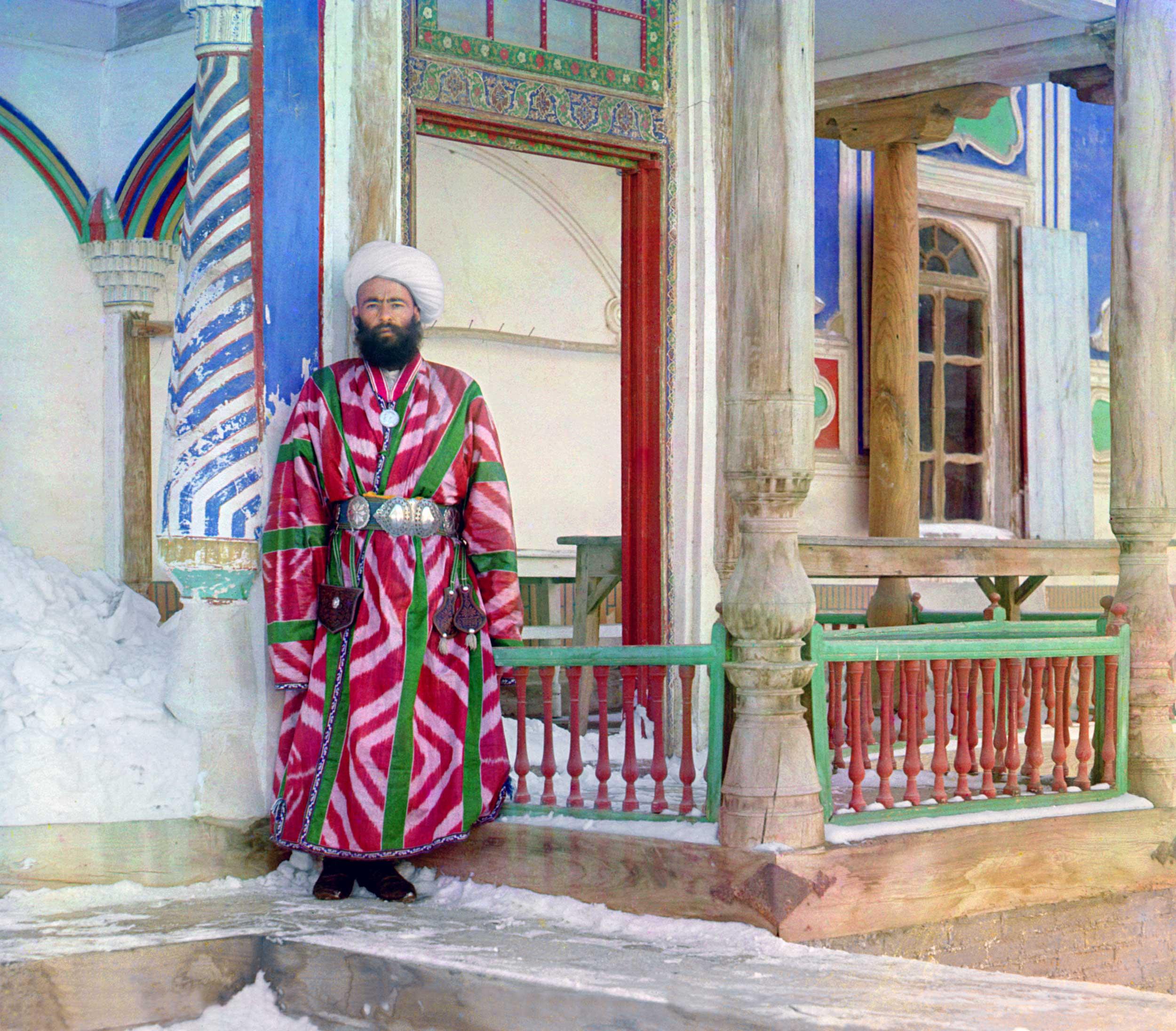 A Bukhara bureaucrat