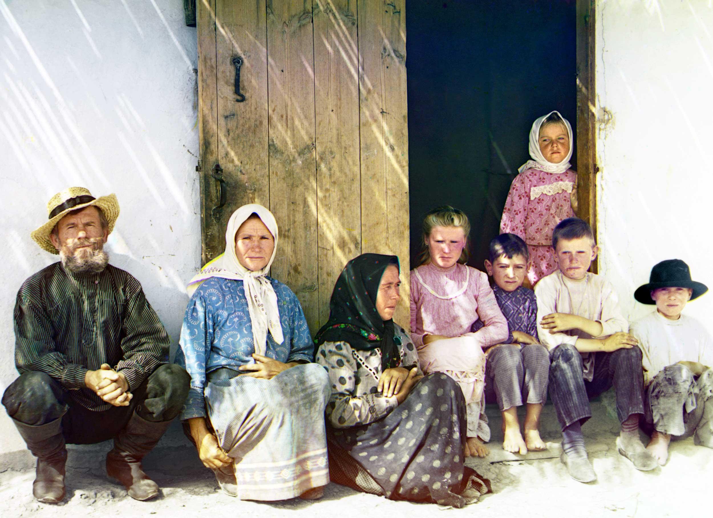 Ethnic Russian settlers
