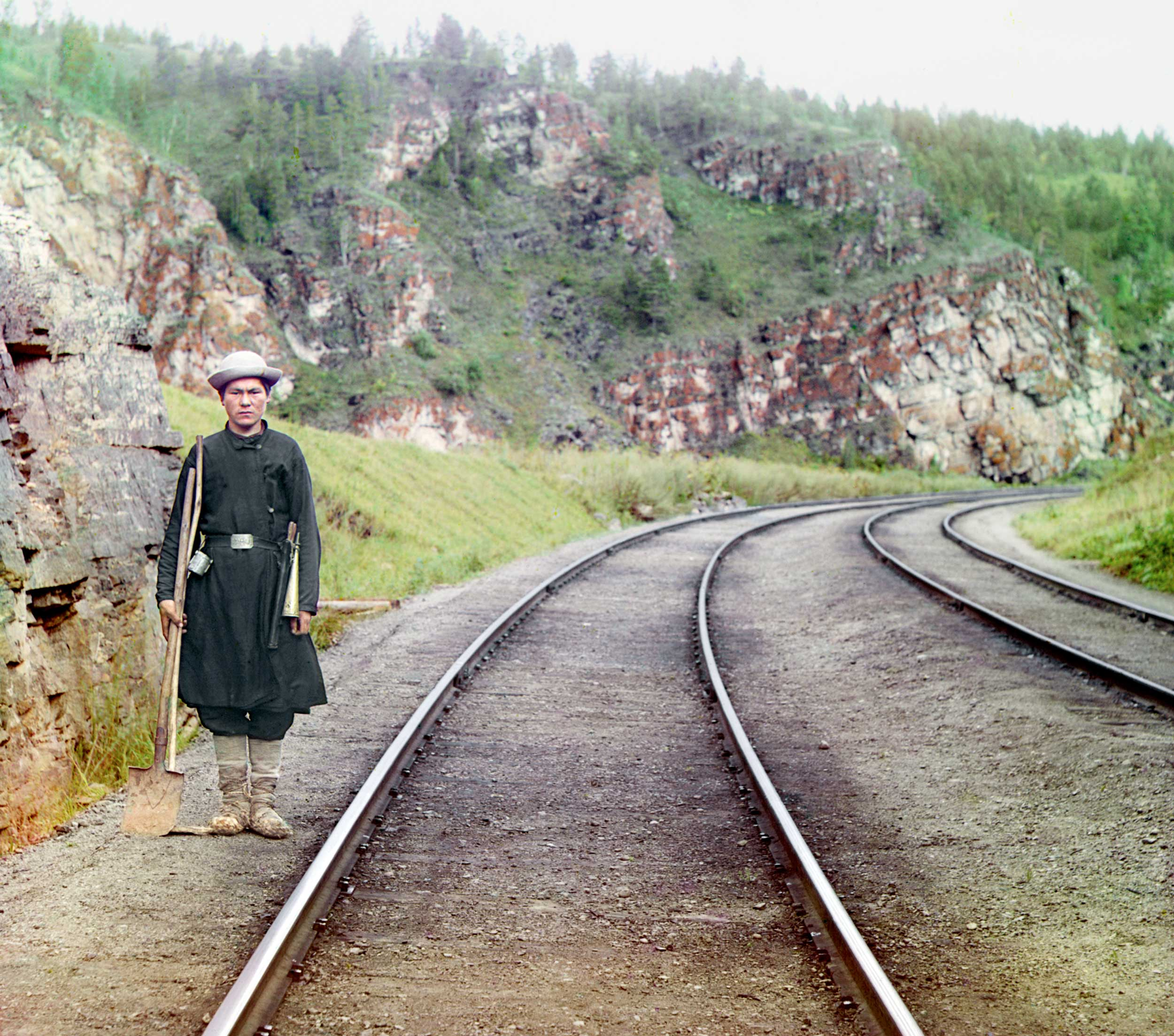 1910 -  Bashkir switch operator