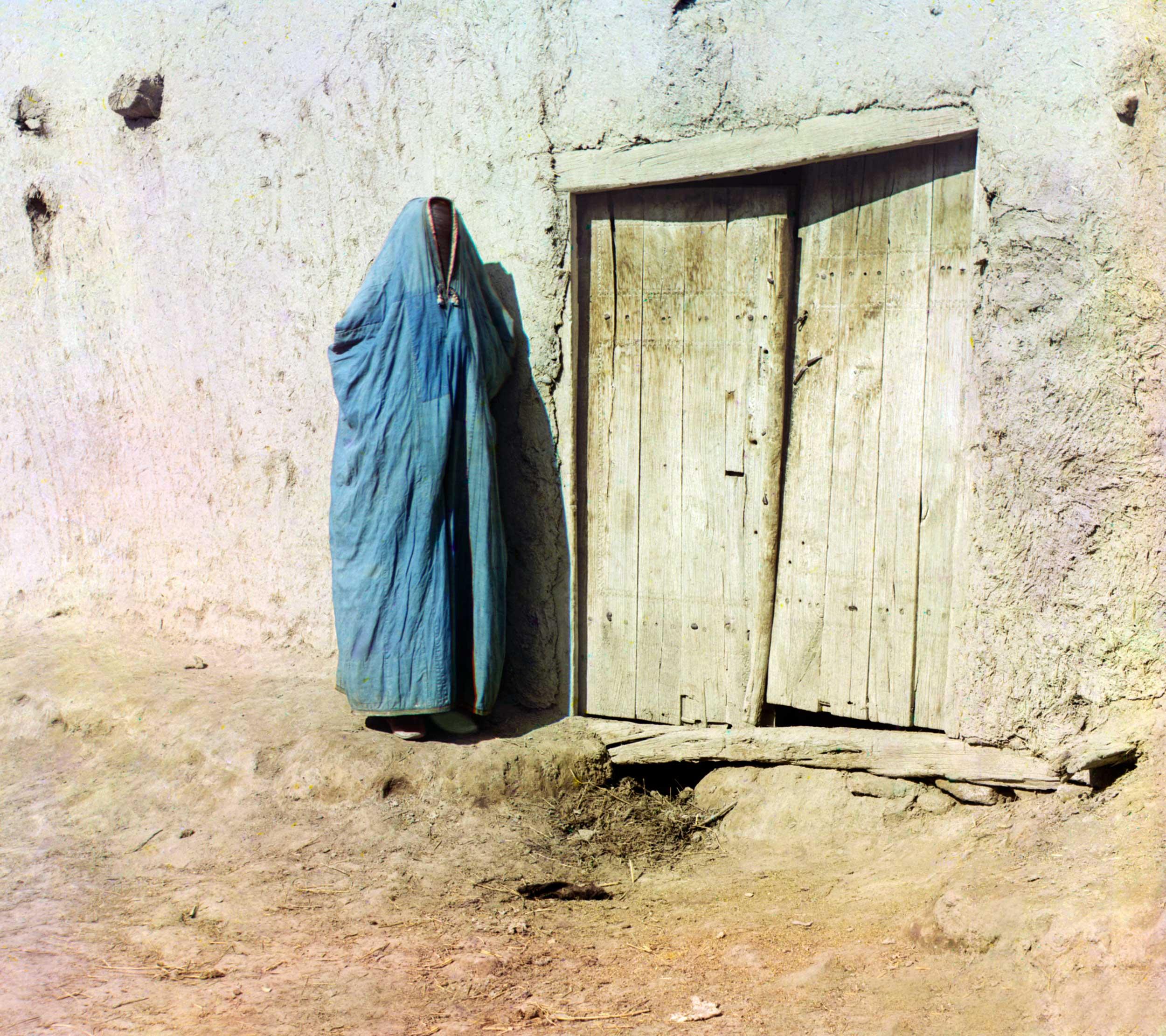 A Sart woman, Samarkand