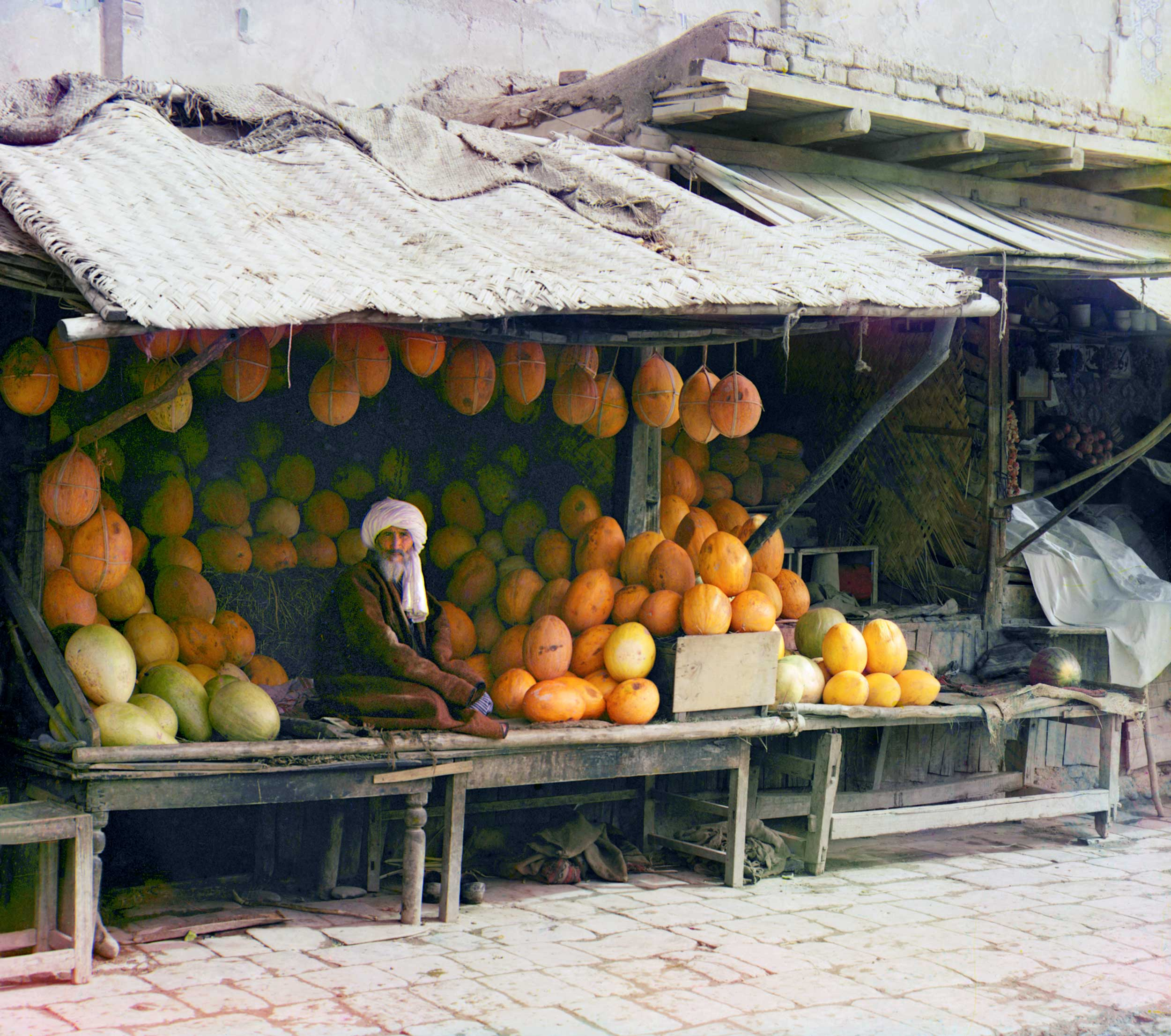 1911 - Melon Vendor