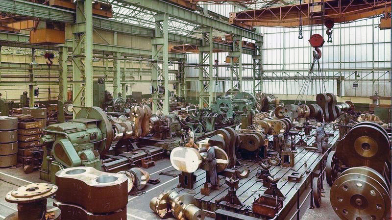General View of Crankshaft Shop