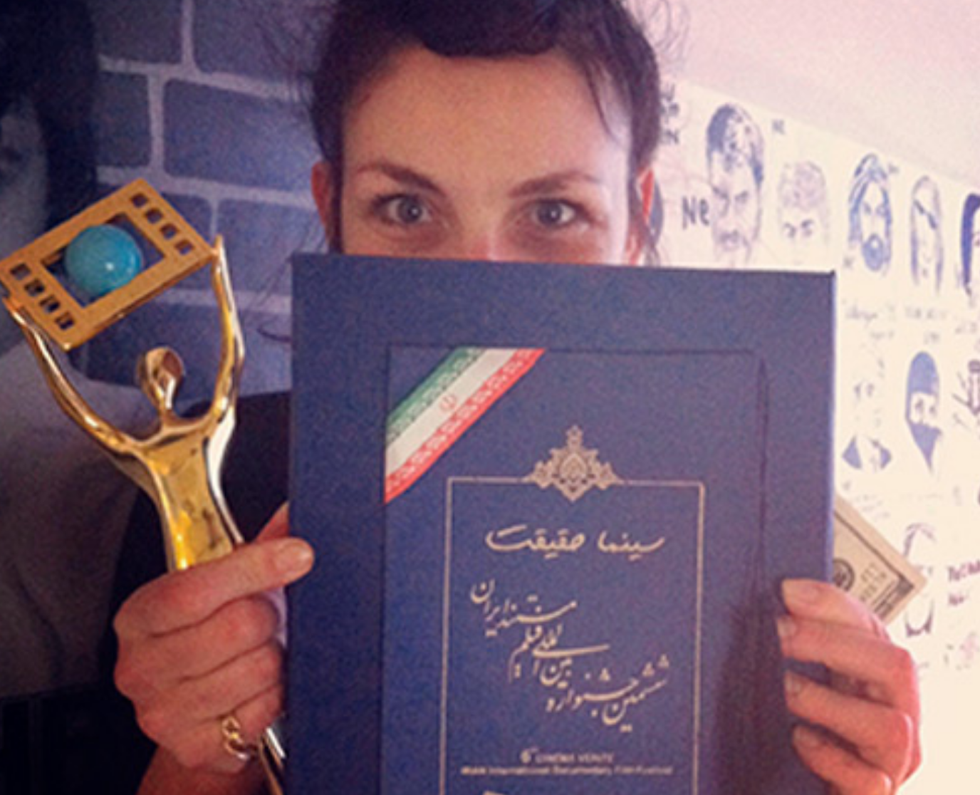 Unbaised Documentary on Woman's Lives awarded at Iranian Film Festival.png