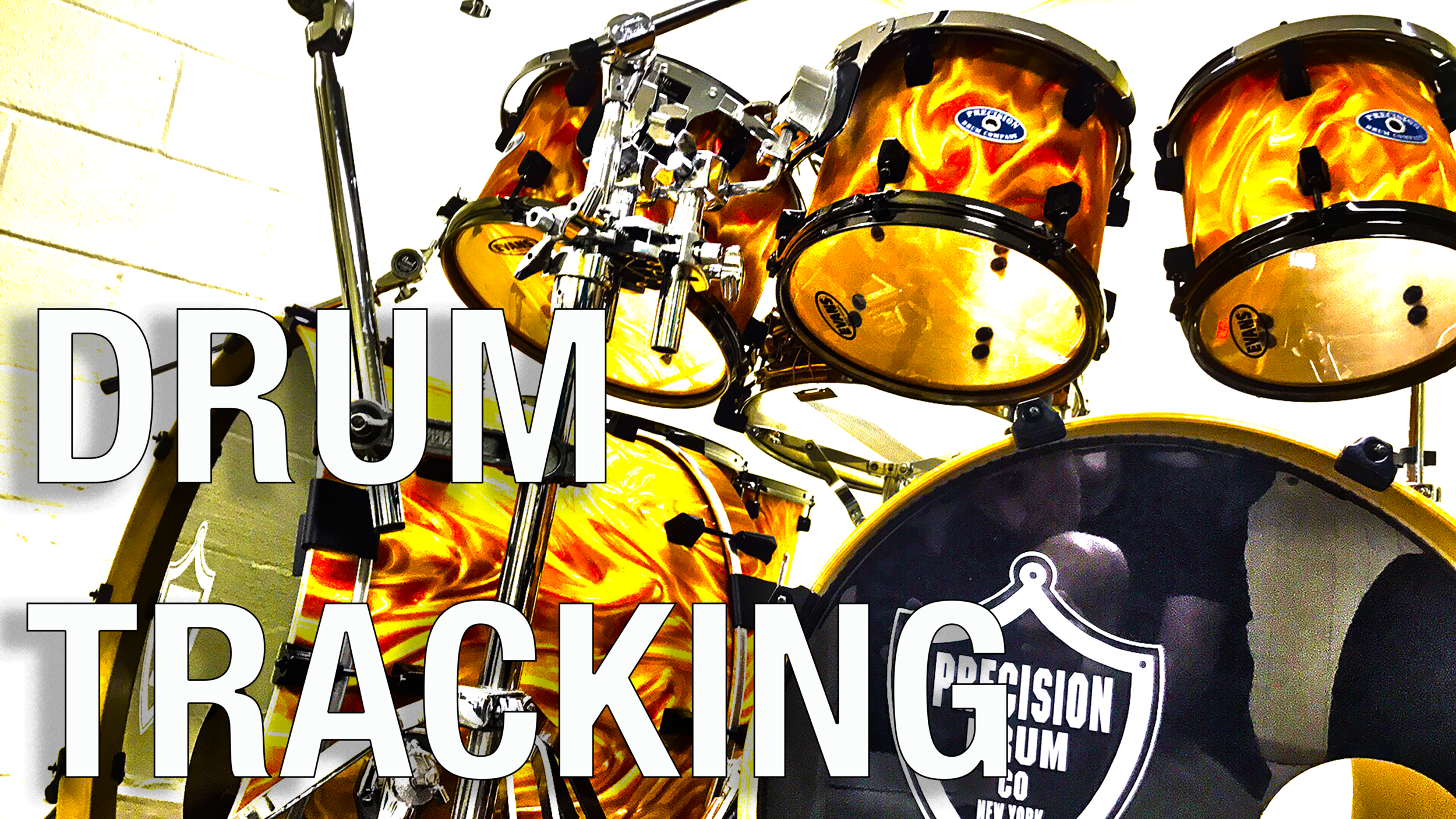 - If you need new drum tracks or would like added percussion for your project, you've come to the right place! I am Artist Endorser for Precision Drums, and I've got an extensive array of MIDI gear, too!
