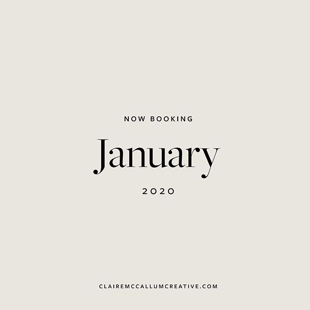"⁠That's a wrap on 2019! ⁠⠀ ⁠⠀ We just closed our 2019 books for the year, and we're currently accepting applications for new clients in 2020. ⁠⠀ ⁠⠀ We're looking for modern + ambitious business owners who are: ⁠⠀ ⁠⠀ ✨Ready to start attracting their dream client.⁠⠀ ✨Ready to grow a brand that communicates their message clearly.⁠⠀ ✨ Ready for their clients to pay them what they deserve, with no hesitations. ✨Ready to start gaining confidence in their offering. ✨Ready to finally start communicating their worth. ⁠⠀ ⁠⠀ Visit our link in bio link and click ""Get Started On Your Next Project"" for more details. ⁠⠀"