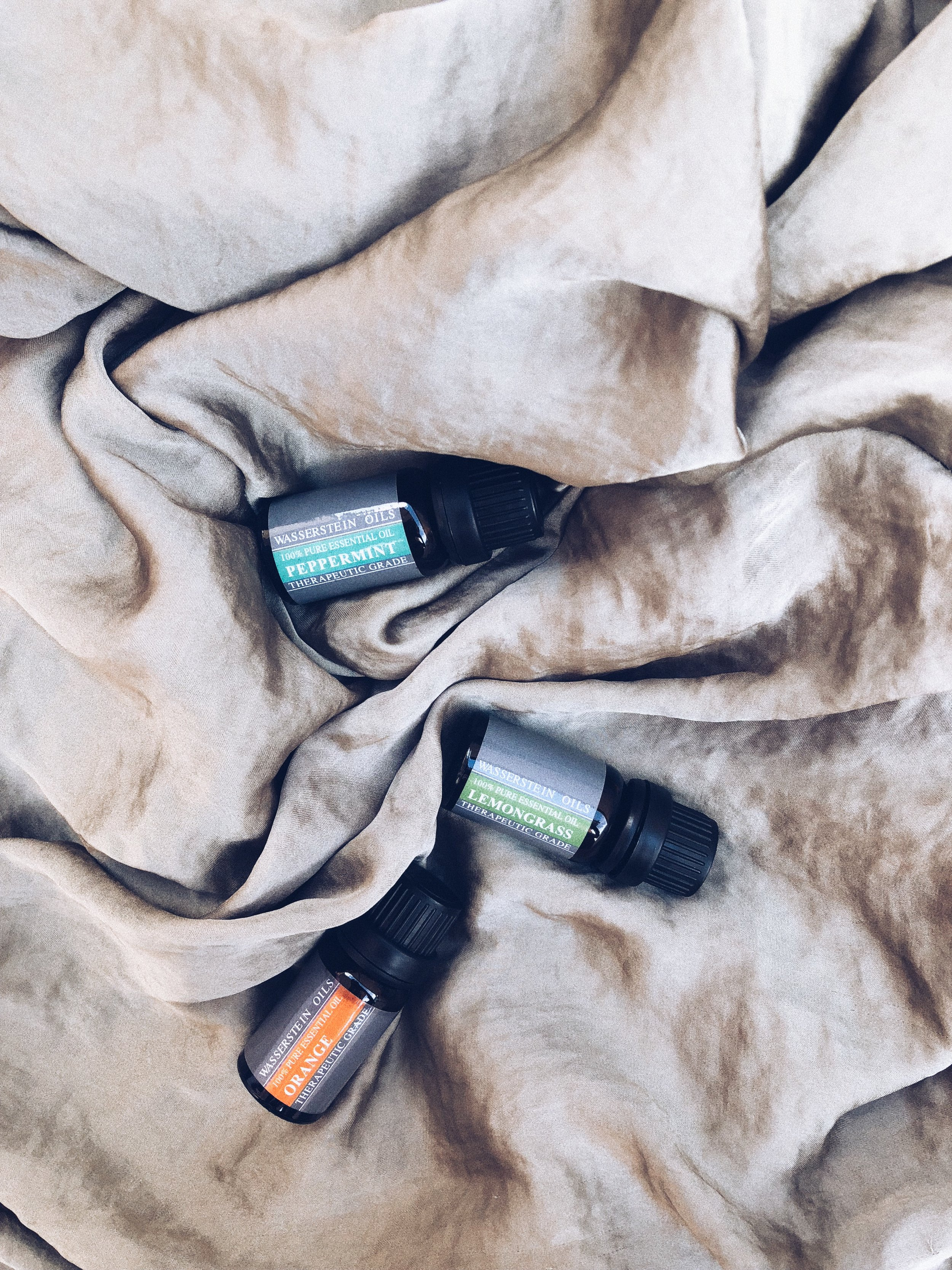 I'M HUGE WITH   ESSENTIAL OILS  ! I NOT ONLY USE THEM IN MY DIFFUSOR BUT ALSO POP FEW DROPS IN MY SHOWER BEFORE I GO IN - I SWEAR, MY WHOLE BATHROOM JUST SMELLS AMAZING. IT'S BEST TO JUST GET A SET IN THE BEGINNING, SO YOU CAN FIND OUT WHIC SCENTS SPEAK TO YOU THE MOST.- J