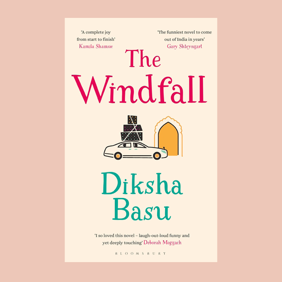 I DON'T READ A LOT OF NOVELS ANYMORE BUT I GOT   'THE WINDFALL'   BY DIKSHA BASU RECOMMEND TO ME AND I'VE BEEN TOLD IT'S LIKE CRAZY RICH ASIANS (SO HILARIOUS, LIGHT AND SOMETIMES THAT'S ALL YOU NEED)- BUT KINDA THE INDIAN VERSION OF IT. THAT'S WHAT MADE ME BUY IT TBH. THE STORY? WHAT HAPPENS WHEN AFTER 30 YEARS OF HARD WORK AND A DOWN TO EARTH LIVING YOU SUDDENLY GET RICH? YOU MOVE TO THE GOLDEN SIDE OF DHELI - AT LEAST THAT'S WHAT THE JHA FAMILY IS TRYING TO DO. WHAT THEY ALSO ARE TRYING? FIGURING OUT THEIR LIFE IN A MODERN INDIA ONCE THEY MADE IT. AND IT'S NEVER AS EASY AS IT SEEMS. - T