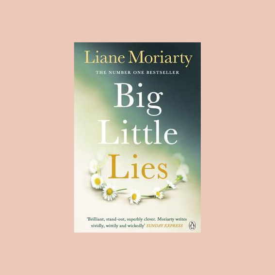 I DESPERATELY WANT TO WATCH THE SERIES WITH NICOLE KIDMAN, ZOE KRAVITZ AND REESE WITHERSPOON, BUT I WANNA READ THE BOOK FIRST.   'BIG LITTLE LIES'   BY LIANE MORIARTY IS ALL ABOUT WOMEN FROM A SMALL TOWN, DOMESTIC VIOLENCE, MURDER, LOVE AND LIES AND I AM A SUCKER FOR DRAMAS LIKE THIS. I'VE HEARD THAT THIS BOOK IS VERY MULTI-FACETTED AND MULTI-DIMENSIONAL AND SO MUCH BETTER THAN YOU WOULD EXPECT. - J