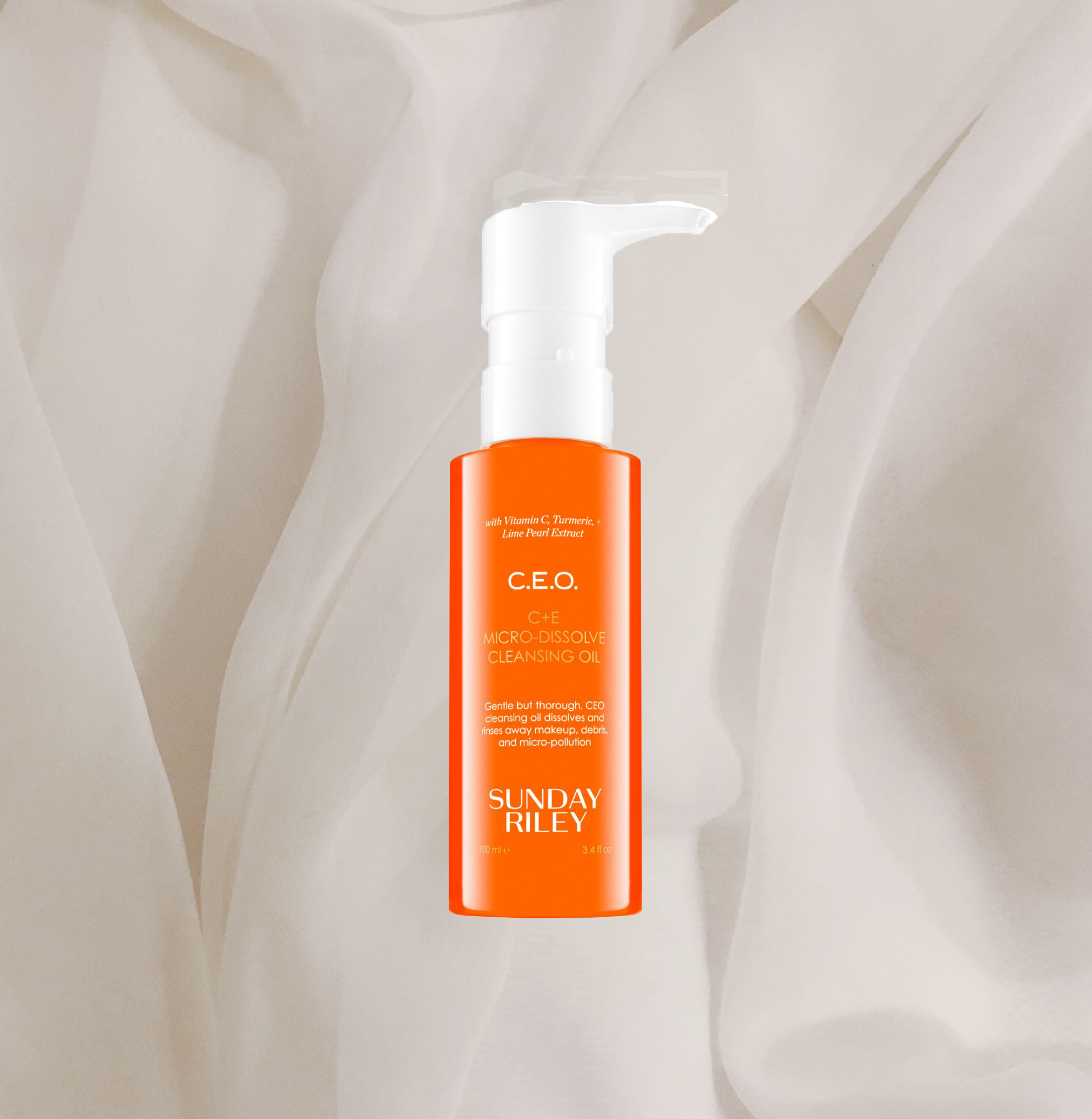 AGAIN, ANOTHER CLEANSER. YES, THEY ARE IMPORTANT TO ME AND I FELL IN LOVE WITH THE   CEO OIL CLEANSER BY SUNDAY RILEY  ! IT'S SO GENTLE AND SOFT AND JUST PERFECT AND IT GETS RID OF EVEN THE HEAVIEST MAKE-UP. I CAN HIGHLY RECOMMEND IT FOR SENSITIVE SKIN LIKE MINE. - T