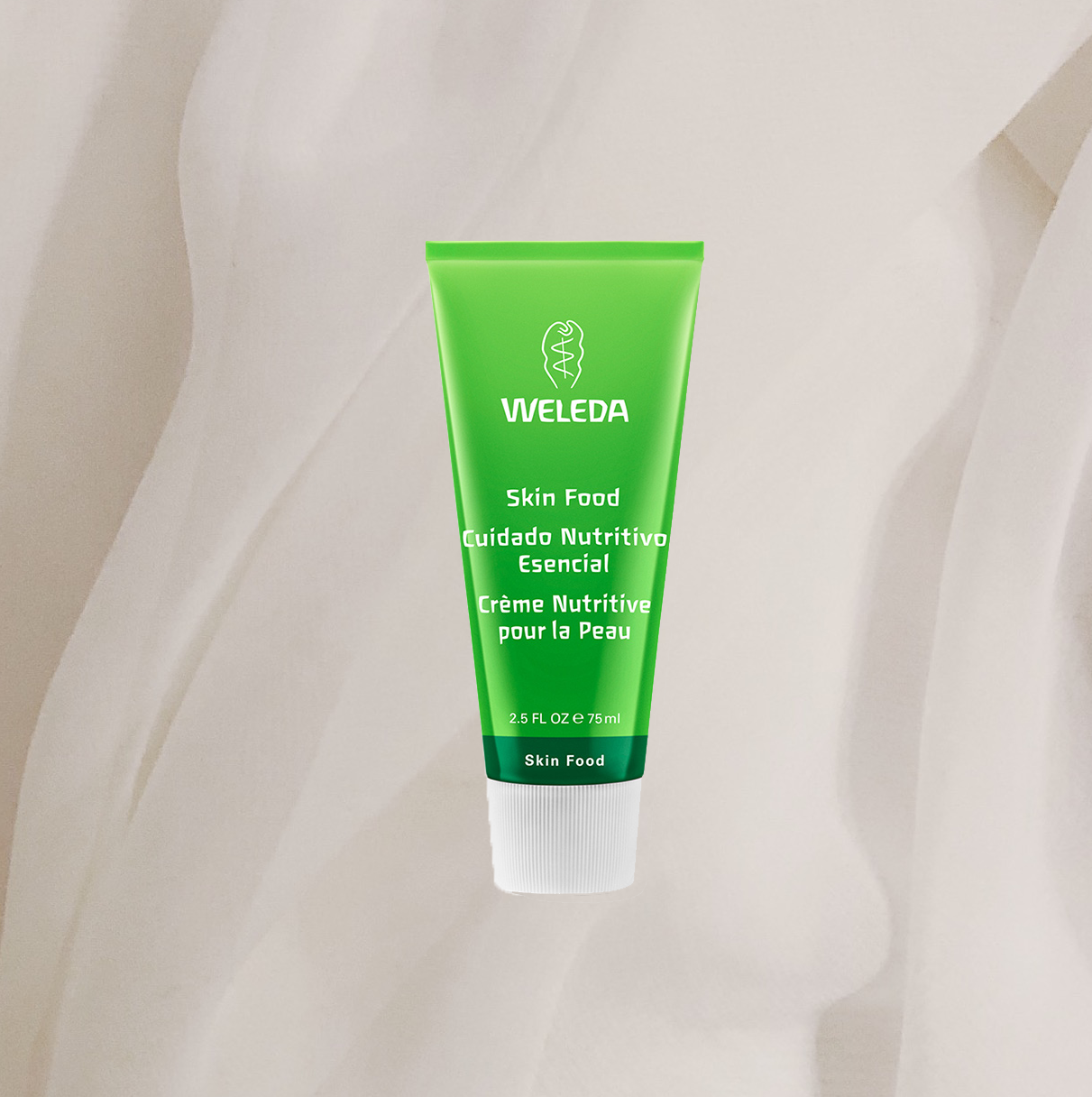 THIS IS THE TRUE RIDE OR DIE FOR DRY SKIN! HONESTLY, NOTHING BEATS   WELEDA SKIN FOOD  ! IT'S THE RICHEST, CREAMIEST, HEAVIEST CREAM EVER AND NO, IT DOESN'T BREAK ME OUT ONE BIT EVEN THOUGH I STRUGGLE WITH THAT. THIS IS A BULLETPROOF MOISTURISER THAT I ALWAYS GO BACK TO BECAUSE IT JUST WORKS. - T