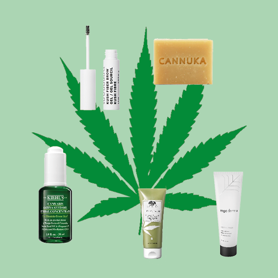 CBD PRODUCTS WE WANT TO TRY NOW - HIGH ON THIS BEAUTY TREND.