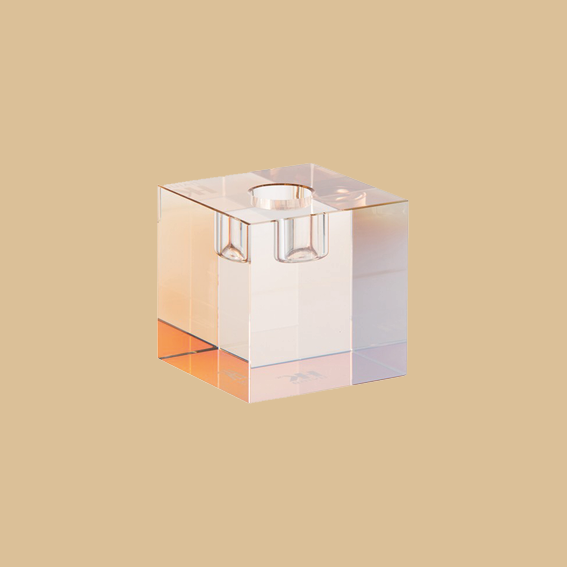 I LOVE WHEN REGULAR DEGULAR THINGS GET DESIGNED INTO SOMETHING COOL: HOW CHIC AND UNIQUE A CANDLE HOLDER CAN BE, PROVES THIS CUBE BY   HKLIVING.     ADMIT IT, YOU HAD NO IDEA IT WAS A CANDLE HOLDER. -T